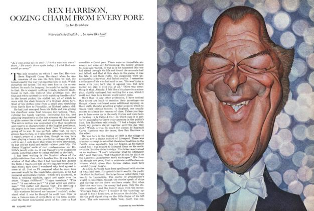 Rex Harrison, Oozing Charm From Every Pore