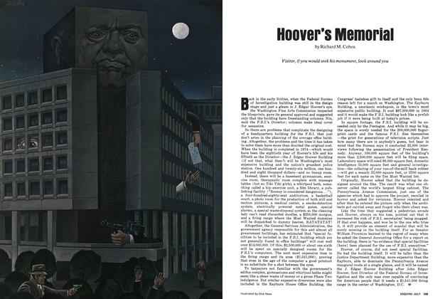 Hoover's Memorial