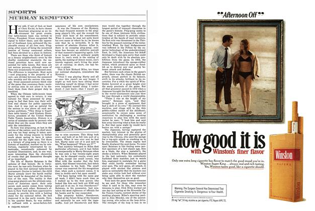 Article Preview: SPORTS, AUGUST 1972 1972 | Esquire