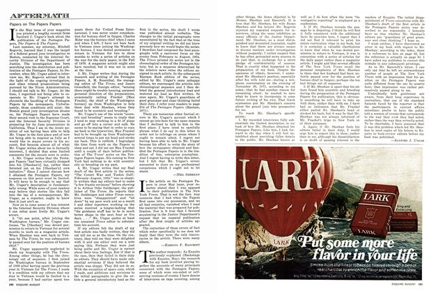 Article Preview: Papers on The Papers Papers, AUGUST 1972 1972 | Esquire