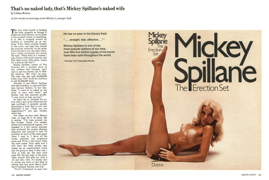 That's No Naked Lady, That's Mickey Spillane's Naked Wife