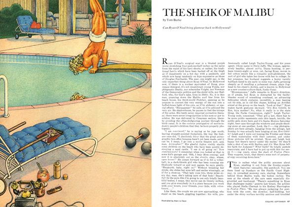 Article Preview: The Sheik of Malibu, SEPTEMBER 1972 1972 | Esquire