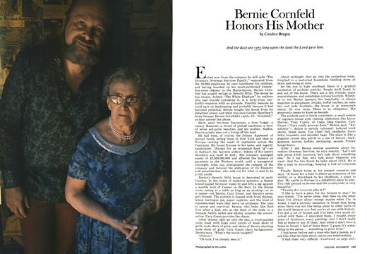 Bernie Cornfeld Honors His Mother