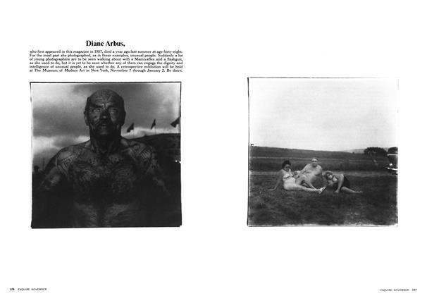 Article Preview: Diane Arbus, NOVEMBER 1972 1972   Esquire