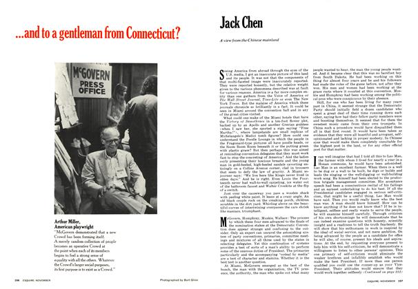 Article Preview: Jack Chen, NOVEMBER 1972 1972 | Esquire