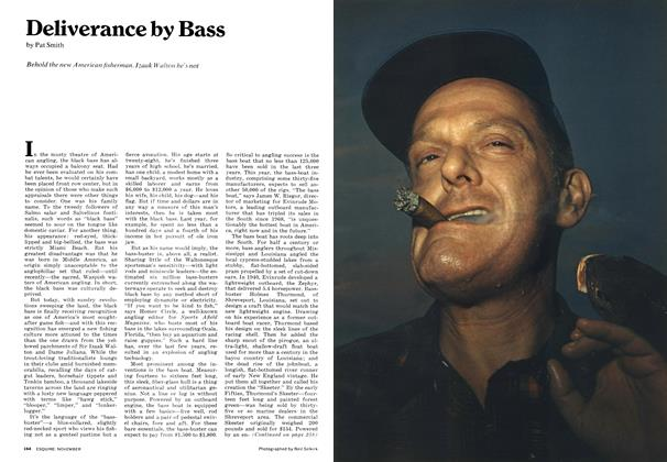 Article Preview: Deliverance by Bass, NOVEMBER 1972 1972 | Esquire