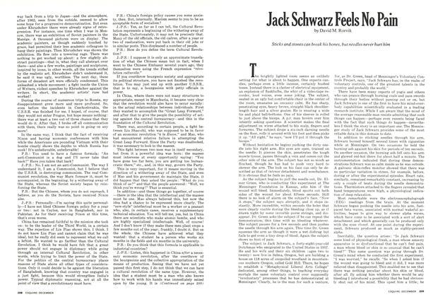 Jack Schwarz Feels No Pain