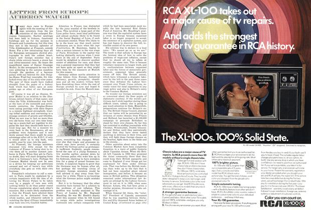 Article Preview: LETTER FROM EUROPE, DECEMBER 1972 1972 | Esquire