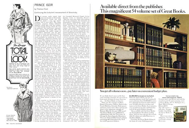 Article Preview: PRINCE IGOR, DECEMBER 1972 1972 | Esquire