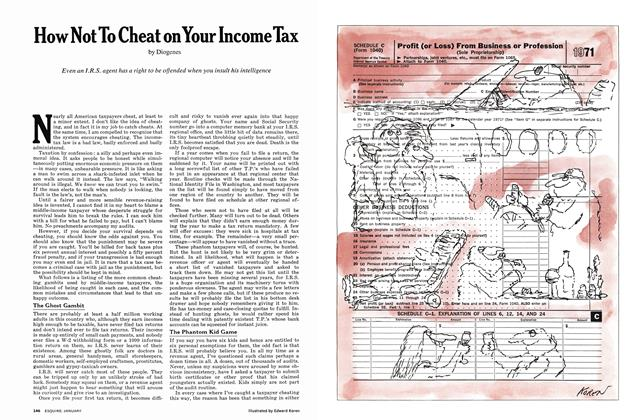 How Not to Cheat on Your Income Tax