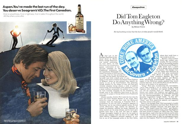 Article Preview: Did Tom Eagleton Do Anything Wrong?, FEBRUARY 1973 1973 | Esquire