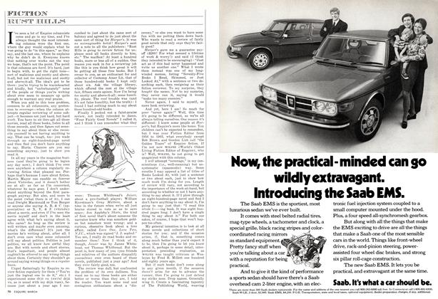 Article Preview: , MARCH 1973 1973 | Esquire