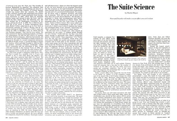 The Suite Science