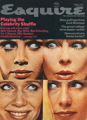 APRIL 1973 | Esquire