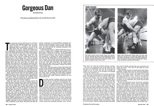 Article Preview: Gorgeous Dan, April 1973 | Esquire