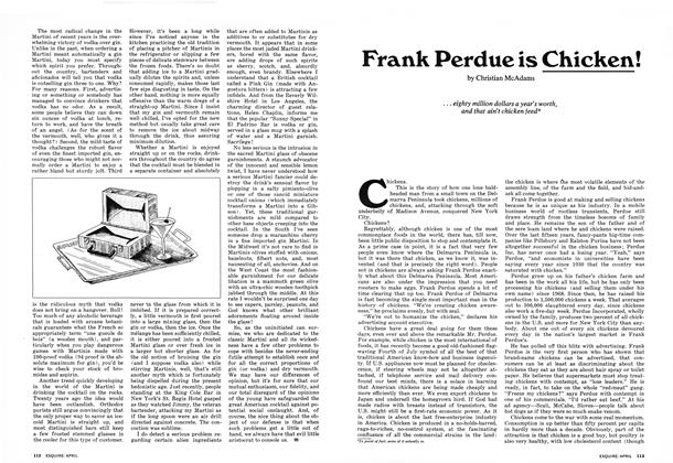 Article Preview: Frank Perdue Is Chicken!, APRIL 1973 1973 | Esquire