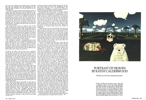 Article Preview: Portrait of Heaven, APRIL 1973 1973   Esquire