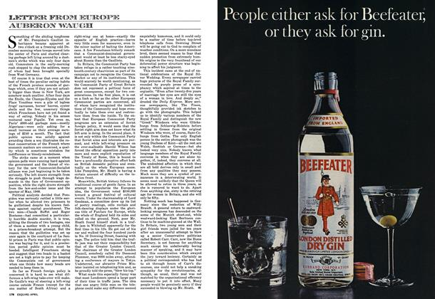 Article Preview: Letter from Europe, APRIL 1973 1973 | Esquire