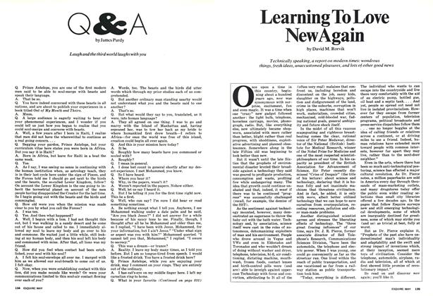 Article Preview: Q & A, MAY 1973 1973 | Esquire