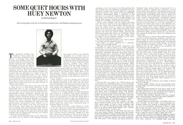 Article Preview: Some Quiet Hours with Huey Newton, MAY 1973 1973 | Esquire