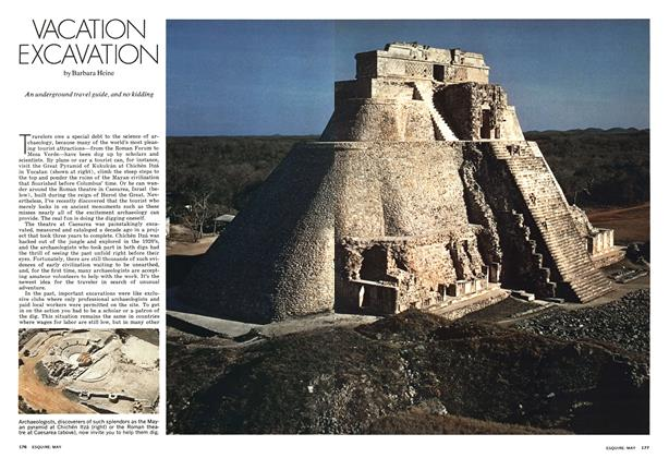 Article Preview: Vacation Excavation, MAY 1973 1973 | Esquire