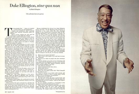 Duke Ellington, Sine Qua Non - June | Esquire