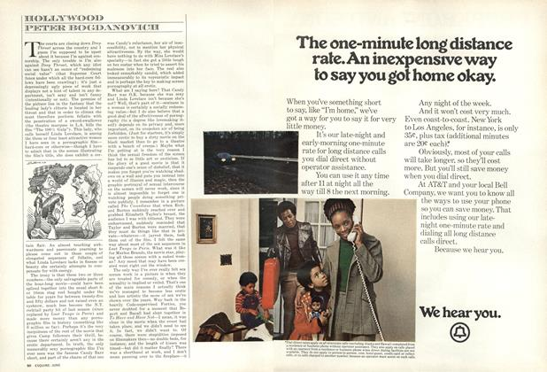 Article Preview: Hollywood, JUNE 1973 1973 | Esquire