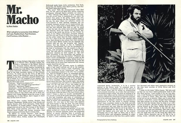 Article Preview: Mr. Macho, June 1973 | Esquire