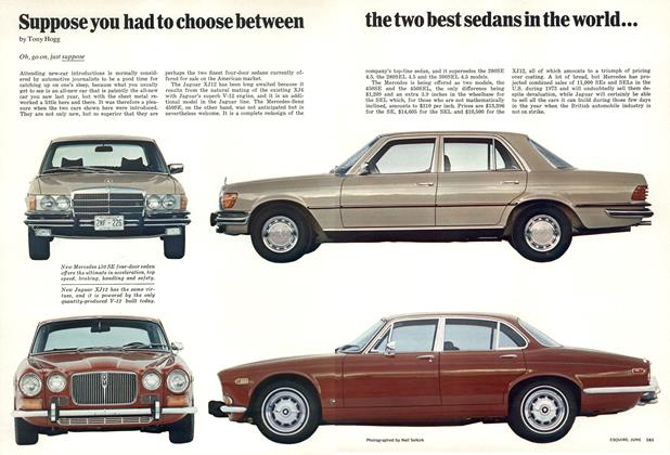 Suppose You Had to Choose Between the Two Best Sedans in the World...