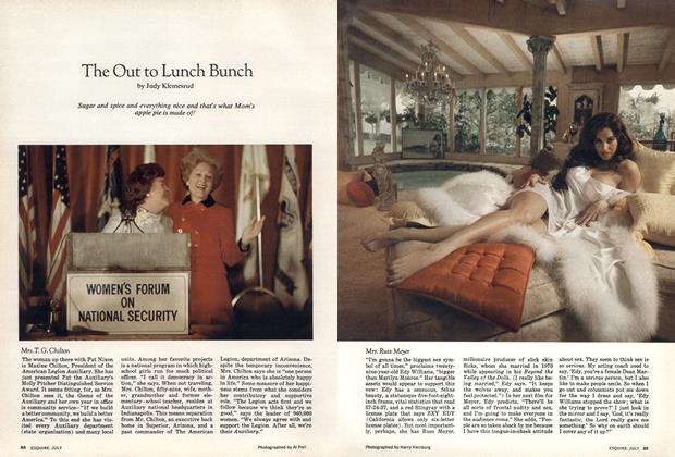 Article Preview: The Out to Lunch Bunch, JULY 1973 1973 | Esquire
