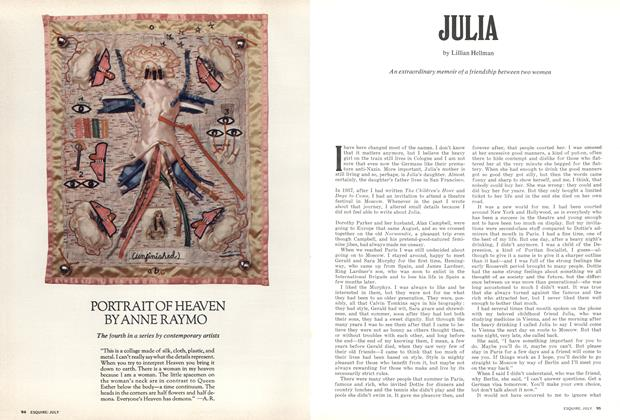 Article Preview: Julia, July 1973 | Esquire
