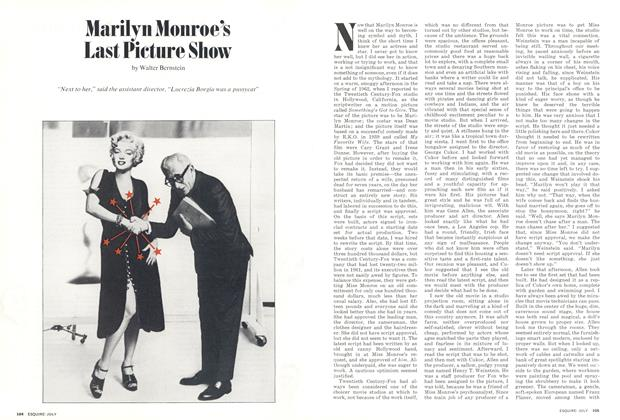 Article Preview: Marilyn Monroe's Last Picture Show, July 1973 | Esquire