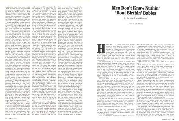 Article Preview: Men Don't Know Nuthin' 'Bout Birthin' Babies, July 1973 | Esquire