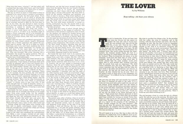 Article Preview: The Lover, JULY 1973 1973 | Esquire
