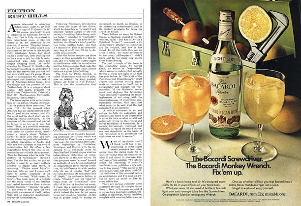 Article Preview: FICTION, AUGUST 1973 1973 | Esquire