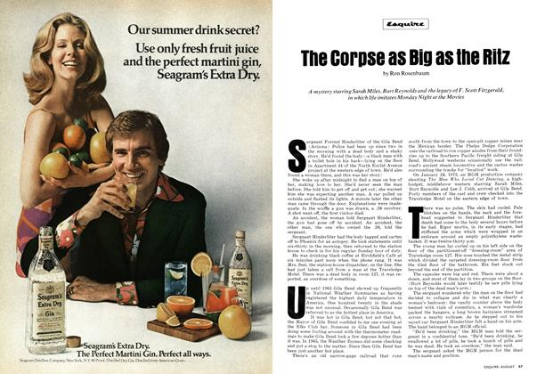 Article Preview: The corpse as Big as the Ritz, AUGUST 1973 1973 | Esquire