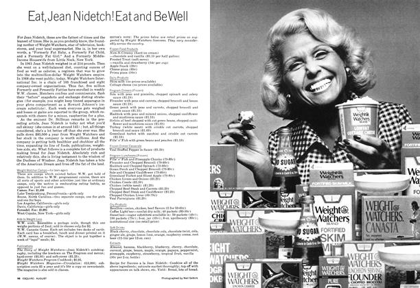 Eat, Jean Nidetch! Eat and Be Well