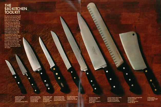 Article Preview: THE $80 KITCHEN TOOL KIT, AUGUST 1973 1973 | Esquire