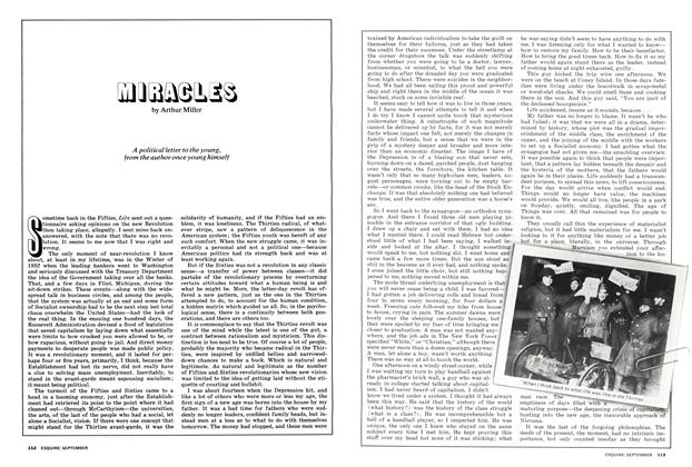 Article Preview: Miracles, September 1973 | Esquire