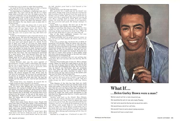 Article Preview: What If... Helen Gurley Brown Were a Man?, SEPTEMBER 1973 1973 | Esquire