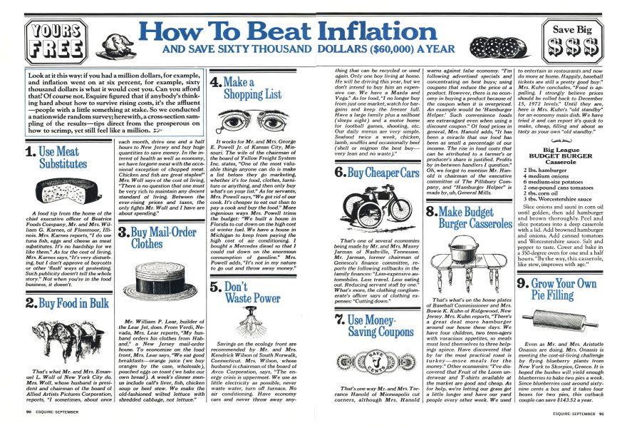 How to Beat Inflation and Save Sixty Thousand Dollars