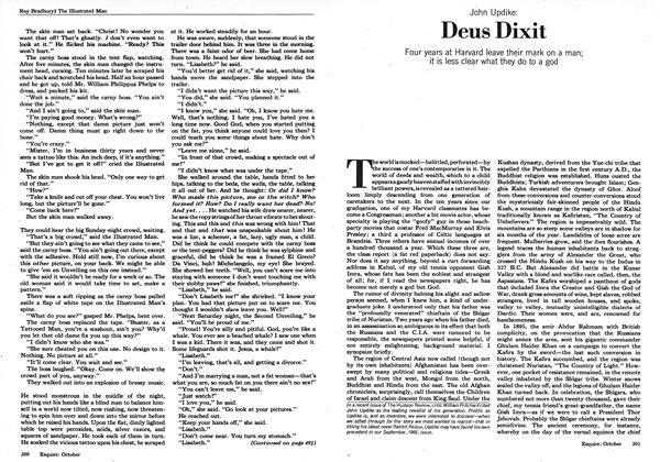 Article Preview: Deus Dixit, OCTOBER 1973 1973   Esquire