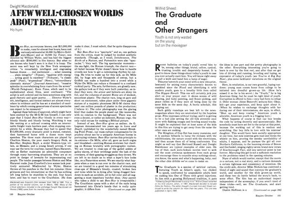 Article Preview: The Graduate and Other Strangers, OCTOBER 1973 1973   Esquire