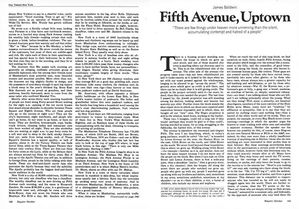 Article Preview: Fifth Avenue, Uptown, October 1973 | Esquire