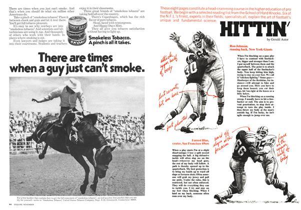 Article Preview: Hittin', NOVEMBER 1973 1973 | Esquire