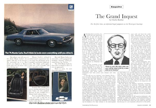 Article Preview: The Grand Inquest, November 1973 | Esquire