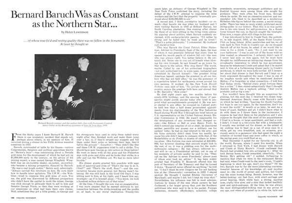 Article Preview: Bernard Baruch Was as Constant as the Northern Star . . ., November 1973 | Esquire
