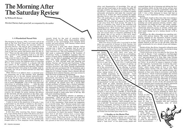 Article Preview: The Morning After The Saturday Review, November 1973 | Esquire