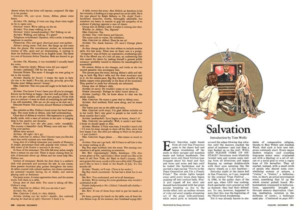 Article Preview: Salvation, December 1973   Esquire