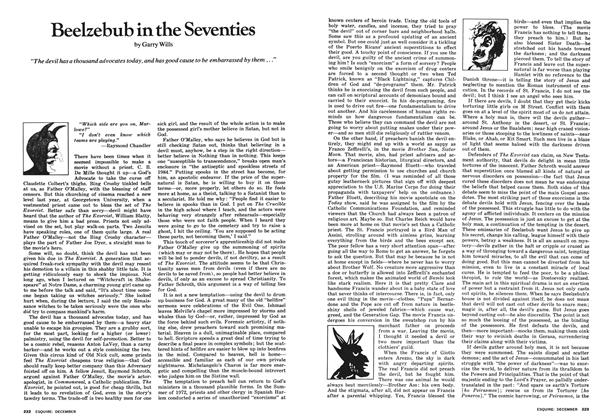 Article Preview: Beelzebub in the Seventies, December 1973 | Esquire